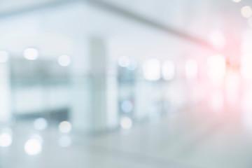 Obraz blur image background of corridor in hospital or clinic image - fototapety do salonu