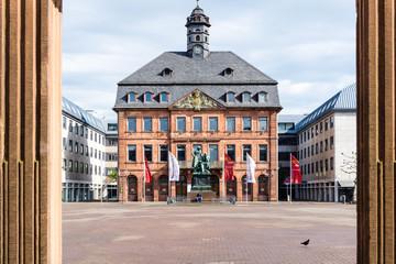 Town Hall in Hanau Hessen Germany