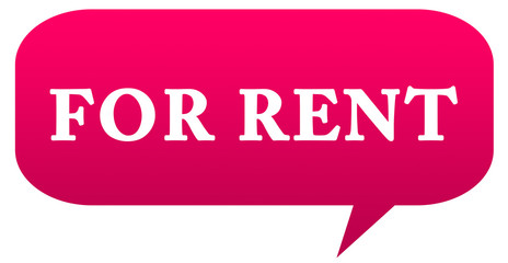 for rent web Sticker Button