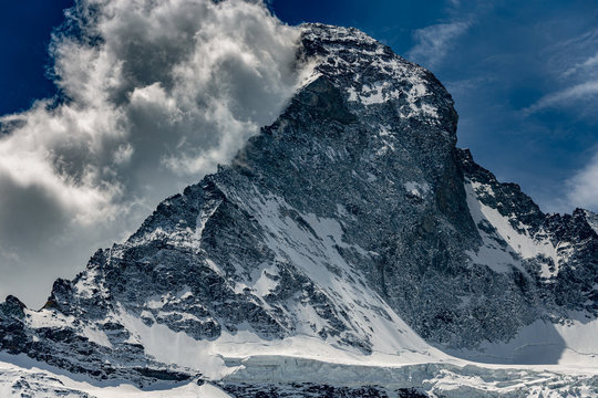 Impressive Cloud over Matterhorn
