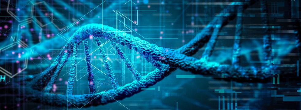 DNA Genetische Forschung