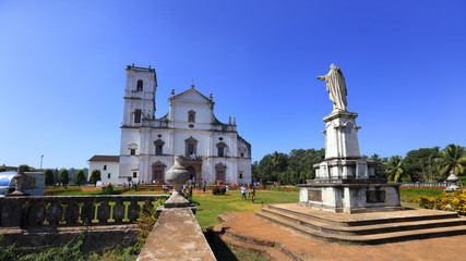 Fototapete - Se Cathedral complex, Old Goa, India.