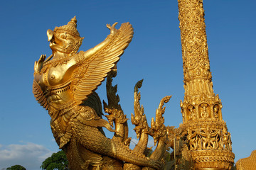 Buddhistische Tempel in Ubon, Nord-Ost-Thailand