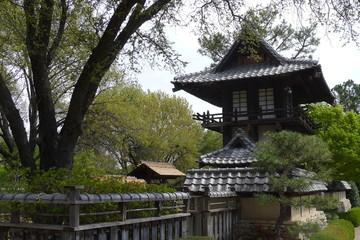 Tower of Fort Worth Japanese Garden