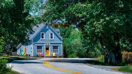 Well maintained old house in rural Nova Scotia