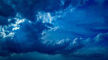 Fototapeta Zachmurzone niebo obraz