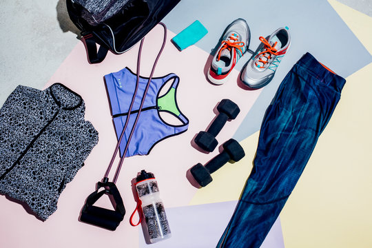 Woman's Workout Outfit