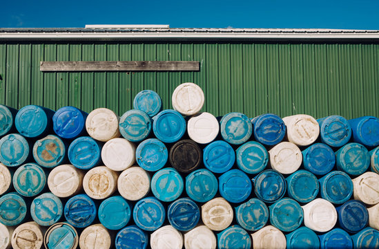 Barrel Stacked on High