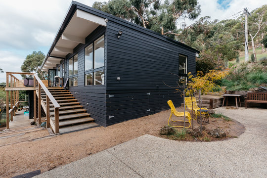 Exterior of an Australian beach house