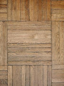 Textured parquet floor in abstraction