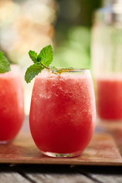 Frozen Watermelon Cocktails