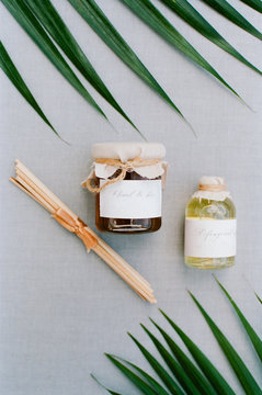 Tropical theme gifts or wedding favors