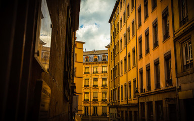 French Alley View