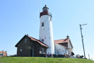 lighthouse in Urk Noord Oost Polder