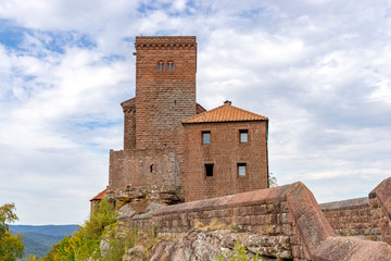 Trifels Castle near Annweiler in the Southern Palatinate