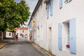 Mornac sur Seudre, one of the most beautiful villages of  France