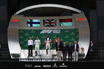 2019 F1 Grand Prix of Great Britain Race Day Jul 14th