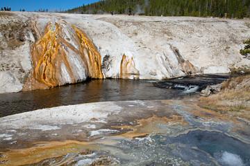 Black sands geyser basin