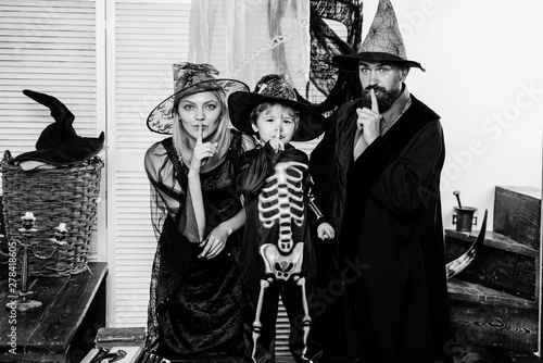 Skeleton Family Halloween Costumes.Family Secret A Terrible Holiday Family In Halloween