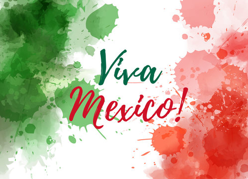 Viva Mexico background