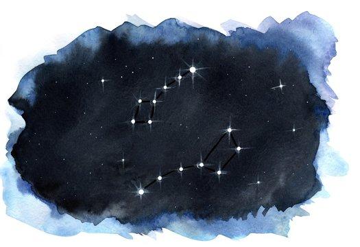 constellation URSA major and minor