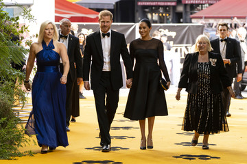"European premiere of ""The Lion King"" in London"