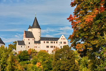 Wall Mural - Schloss Schwarzenberg im Erzgebirge in Sachsen