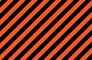 Illustration of orange and black stripes.a symbol of dangerous and radioactive substances.The sample is widely used in industry. Wall mural