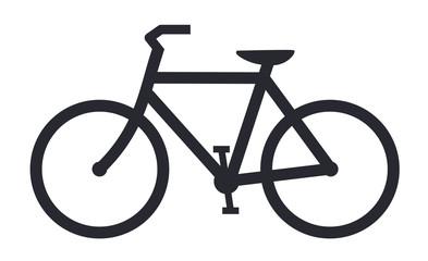 Bicycle icon bike vector symbol
