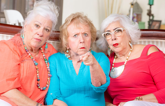 Three Angry Senior Ladies