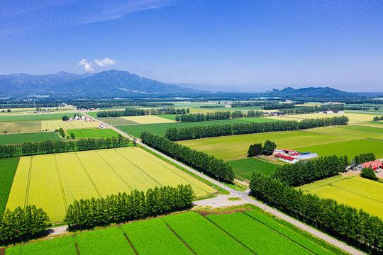 北海道の空撮