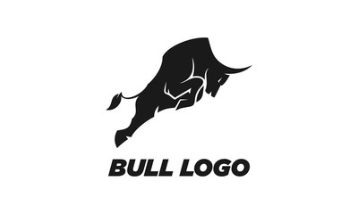 Bull icon logo