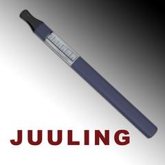 JUULING - smoking concept