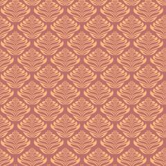 Retro Leaf Pattern