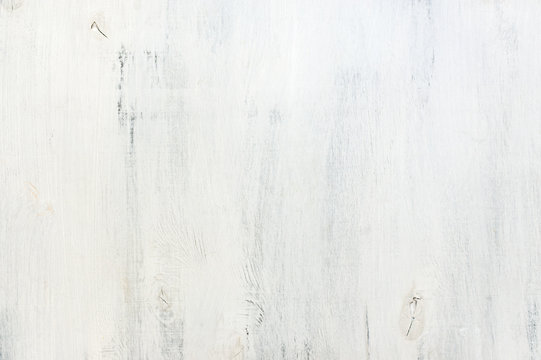 White painted wood texture