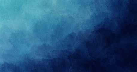 Abstract watercolor paint background by teal color blue and green with liquid fluid texture for background, banner Fototapete
