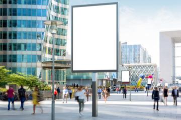Mock up of an Outdoor Billboard Advertisement