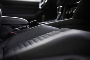 Moderner Luxus Leder Alcantara Sitzbezug / Auto Innenausstattung