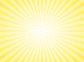 Sunlight abstract background. Powder yellow color burst background. Fototapete
