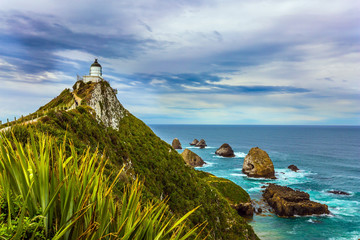 New Zealand. Nugget Point Lighthouse