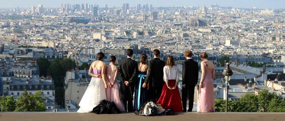 Paris - Montmartre - Photo de Groupe