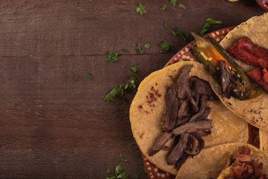 Tacos de Mexico, tacos carne asada, tacos de arrachera, tacos de al pastor, cultura mexicana