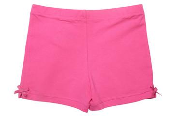 Children's wear - pink shorts Fototapete