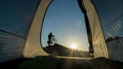 Cappadocia trip with bike, adventure and beauties