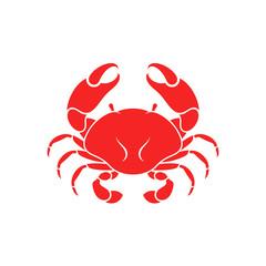 Crab. Sea life. Vector illustration