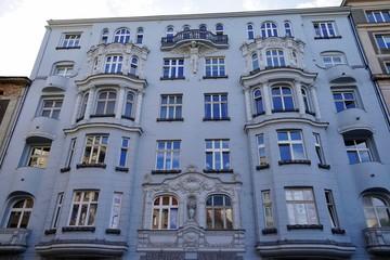 Jugendstilgebäude in Warschau