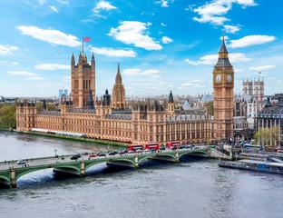 Keuken foto achterwand London Houses of Parliament with Big Ben tower, London, UK