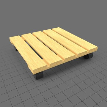 Wooden dolly