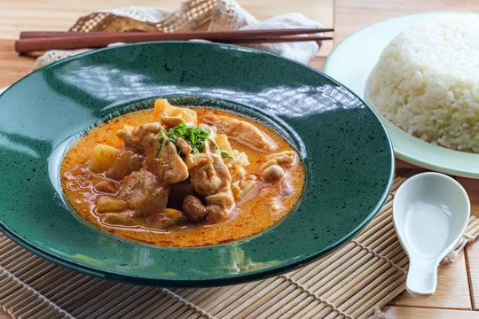 Thai Food Massaman Curry