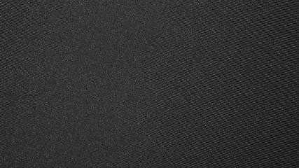 Texture of black dense fabric.Dark fabric background. Fototapete